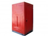 Red Plastic Portable Toilets for sale