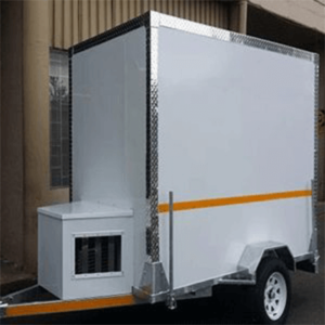 Small unit mobile chillers for sale