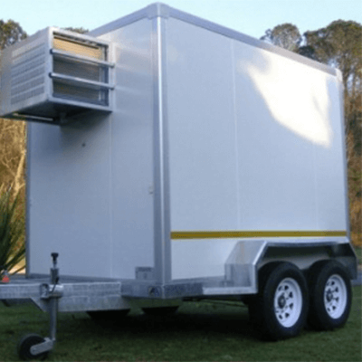 Double axle mobile chillers for sale