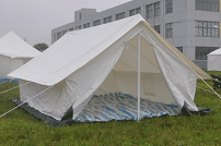 Canvas Relief Tents