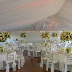 tiffany chairs and decor and trables