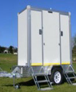 single unit portable toilets